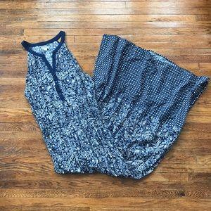 Old Navy Blue Maxi Dress